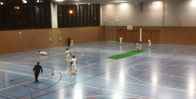 Gingins U19 indoor tournament 2015