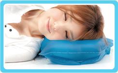 S-sleep 頭の重さを分散し、首に優しい安眠枕!