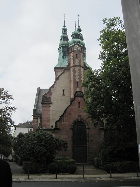 ディエゴとサンドラの家からすぐ近くの教会