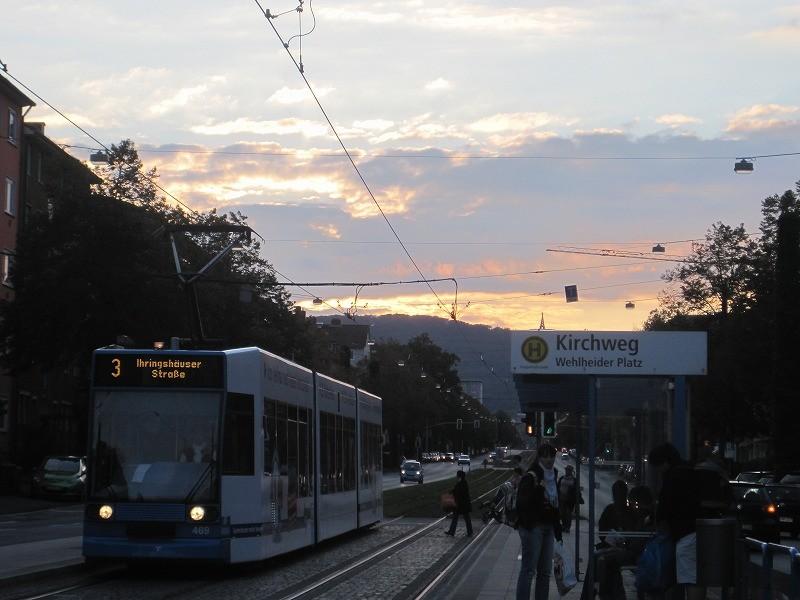 市内電車。グリーンムーバはドイツから来ました。似てる!!