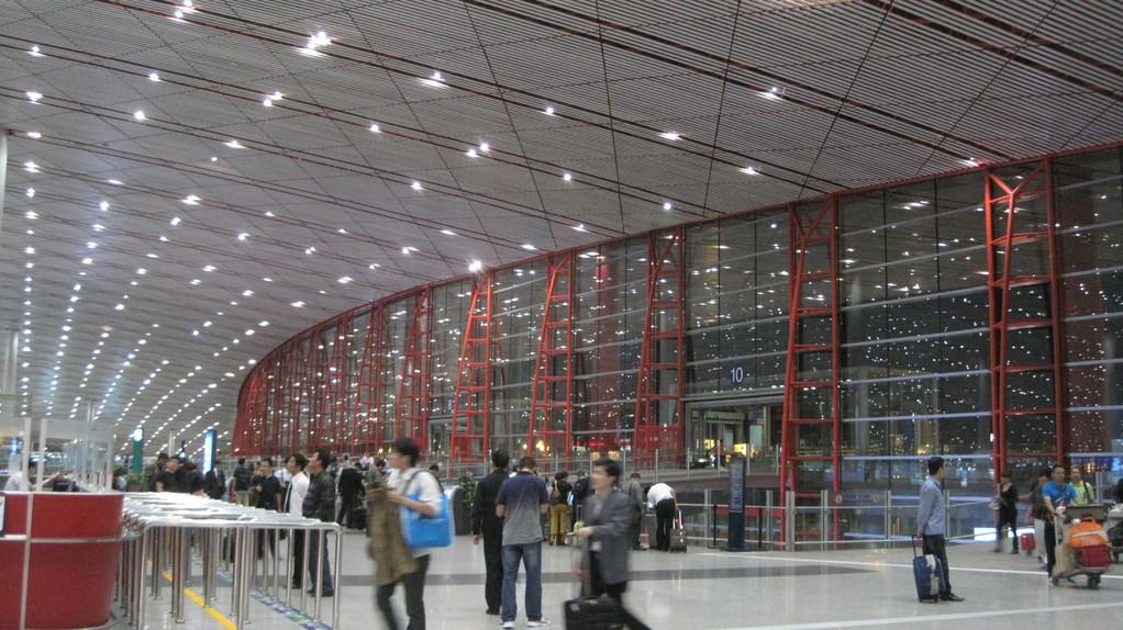 北京空港から乗り継ぎ 北京空港広過ぎて不安でした。