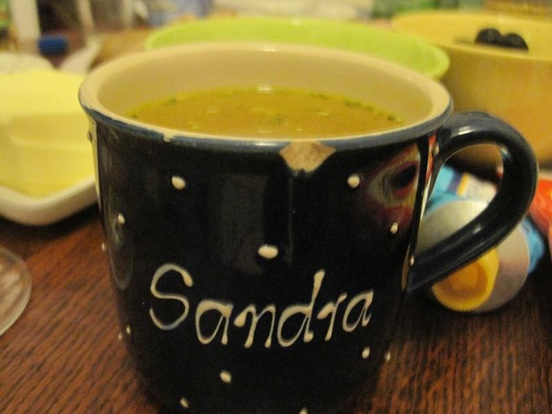 サンドラのマグカップ