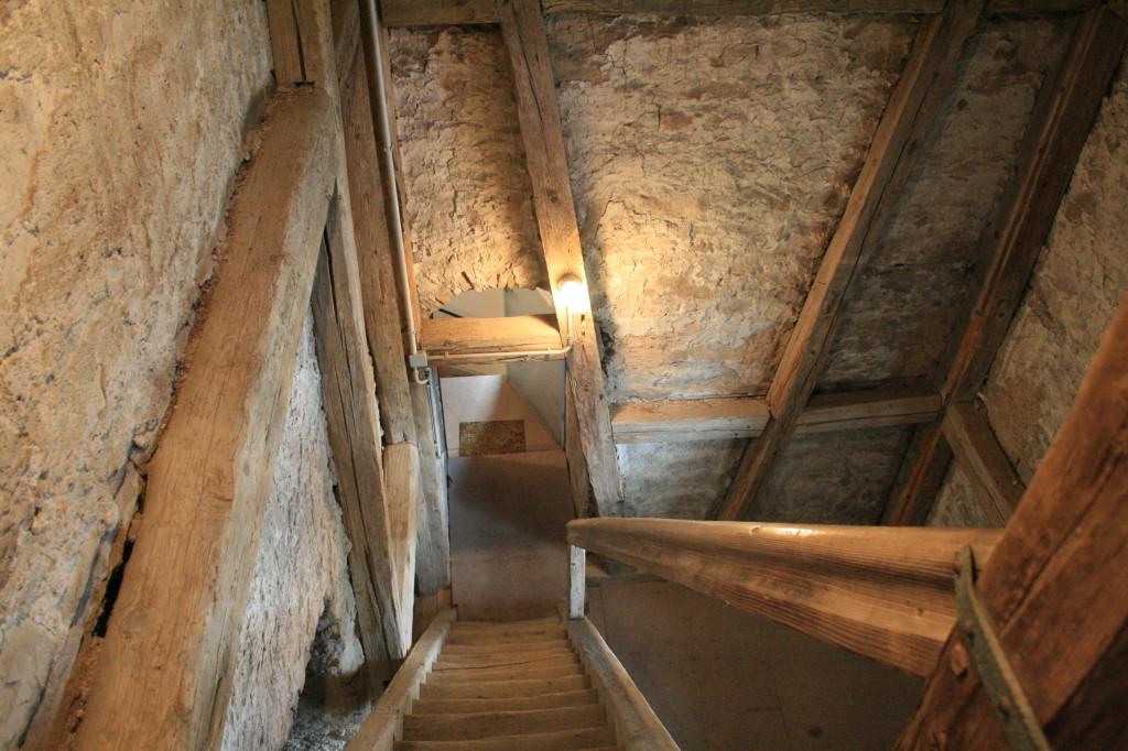 Treppenaufgang zu den Glocken