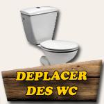 Déplacer des toilettes