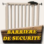 Barrière de sécurité sur mesure pour escalier