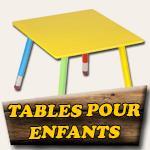 Fabrication table extérieure pour enfants