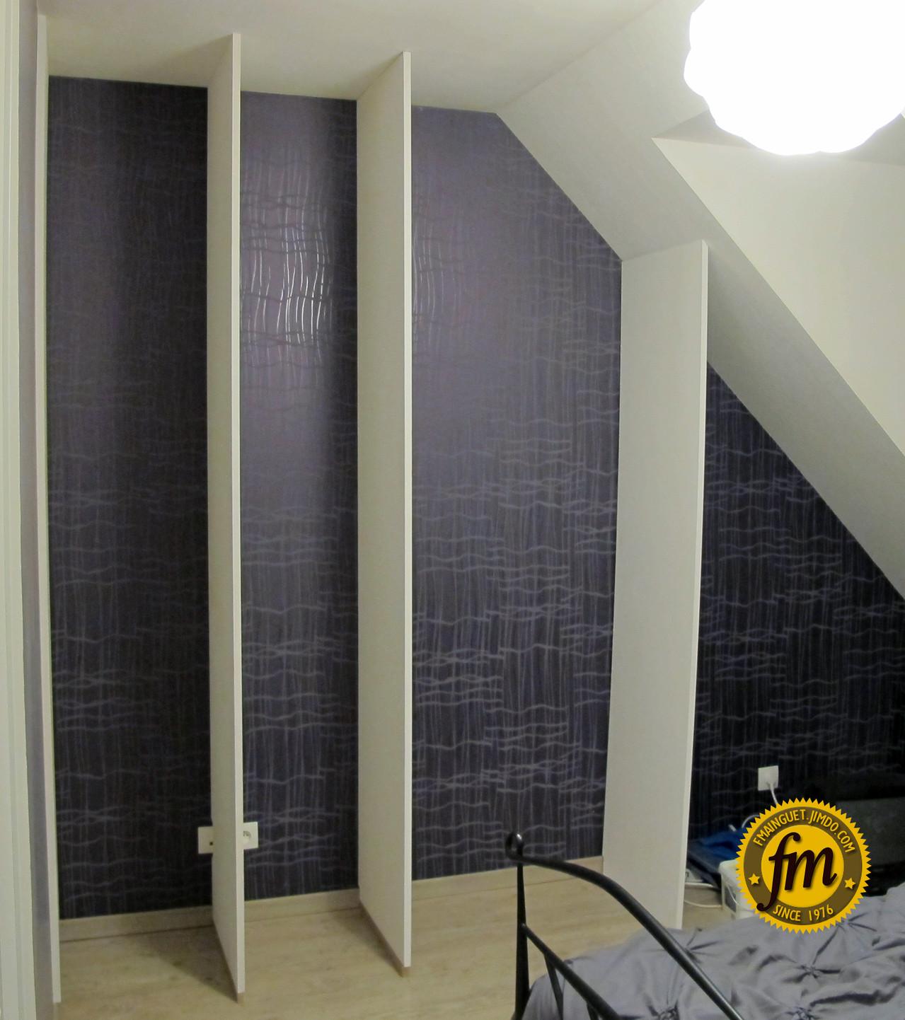 placard sur mesure site de fr d ric mainguet. Black Bedroom Furniture Sets. Home Design Ideas