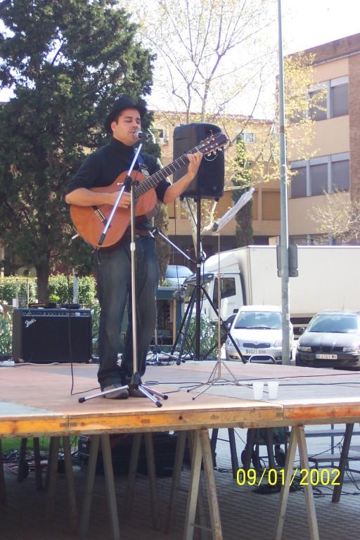 Concert de Chucho Díaz, antic alumne Arrels, dissabte dia 10