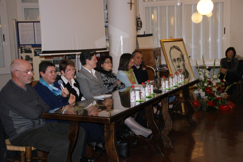 Dani, Paquita, Mª Dolores, Ramona, Chelo i Javier.