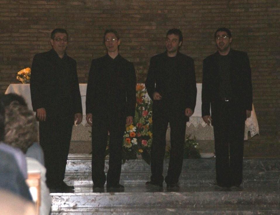 """""""The Minstrels""""  van oferir un concert """"a capella """"."""