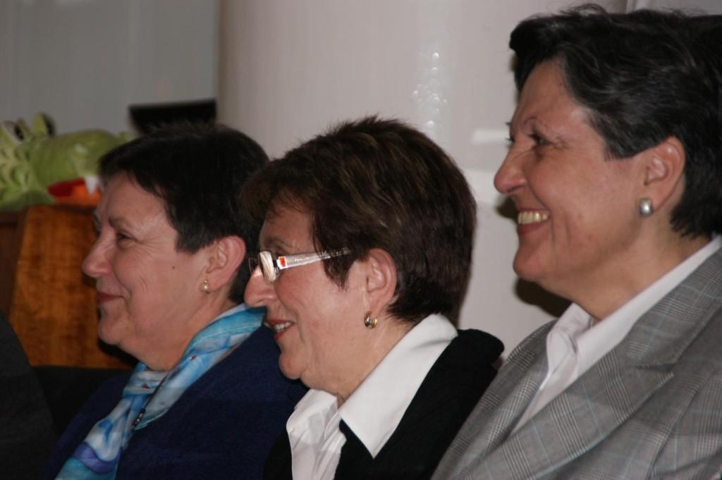 Marisol, Paquita i Mª Dolores.