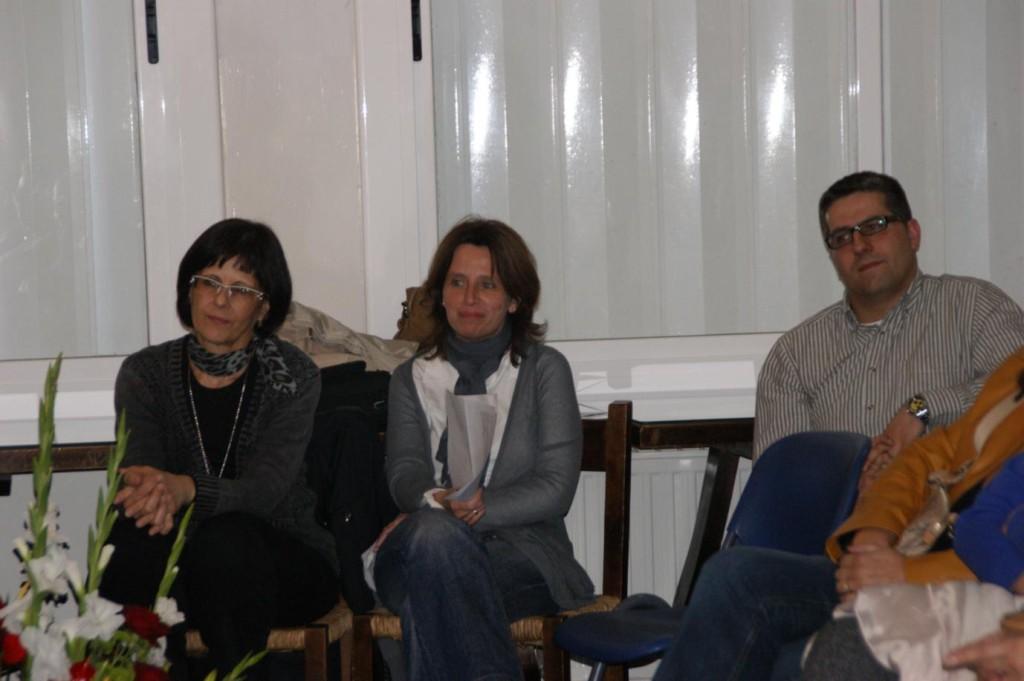Altres antics profes també hi eren presents: Pilar Ferreiro, Carme Clarós, Javi Cortés.