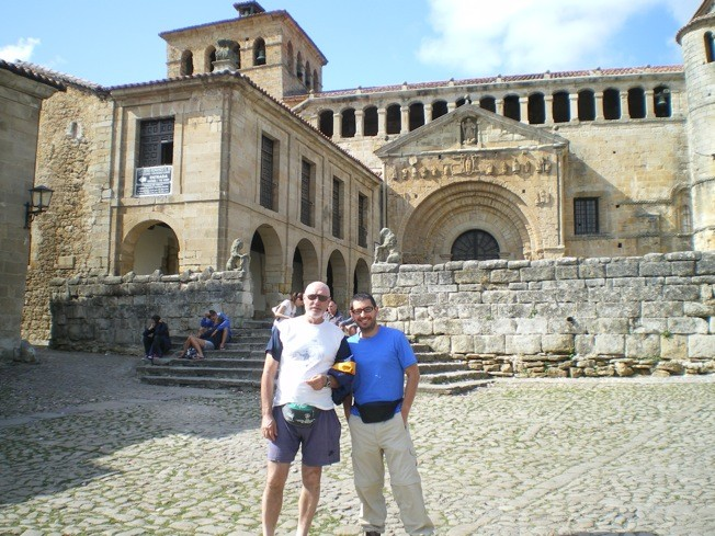 La Colegiata de Santa Juliana, a Santillana