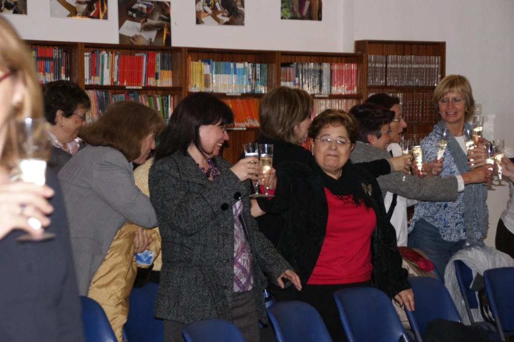 Brindis per la vida generada i rebuda a la nostra Escola Arrels-San Pio X- Mª Josefa Segovia.