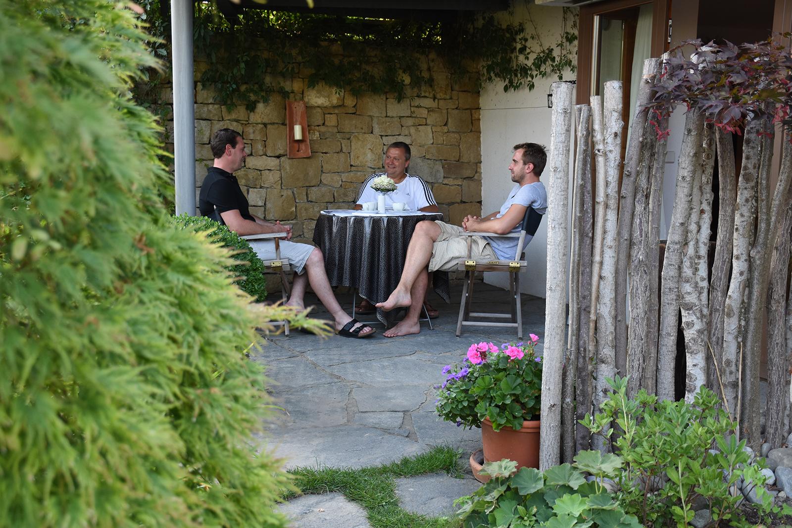 Ferienwohnung am Bodensee: Schillerstraße - Terrasse