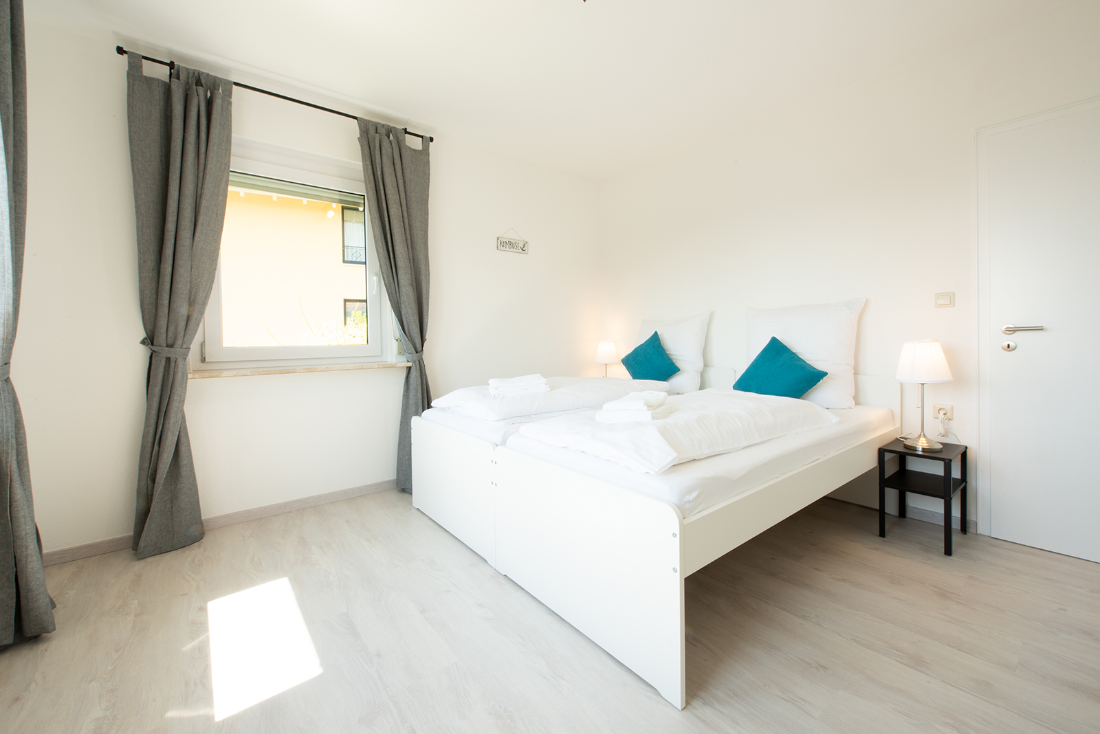 Ferienwohnung am Bodensee: Meersburg - Schlafzimmer 1