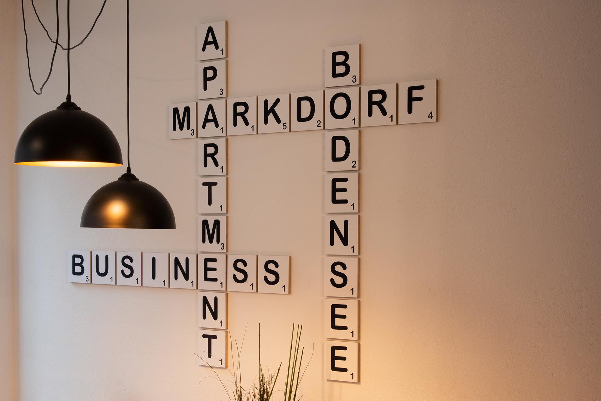 Business Apartment am Bodensee - Deko