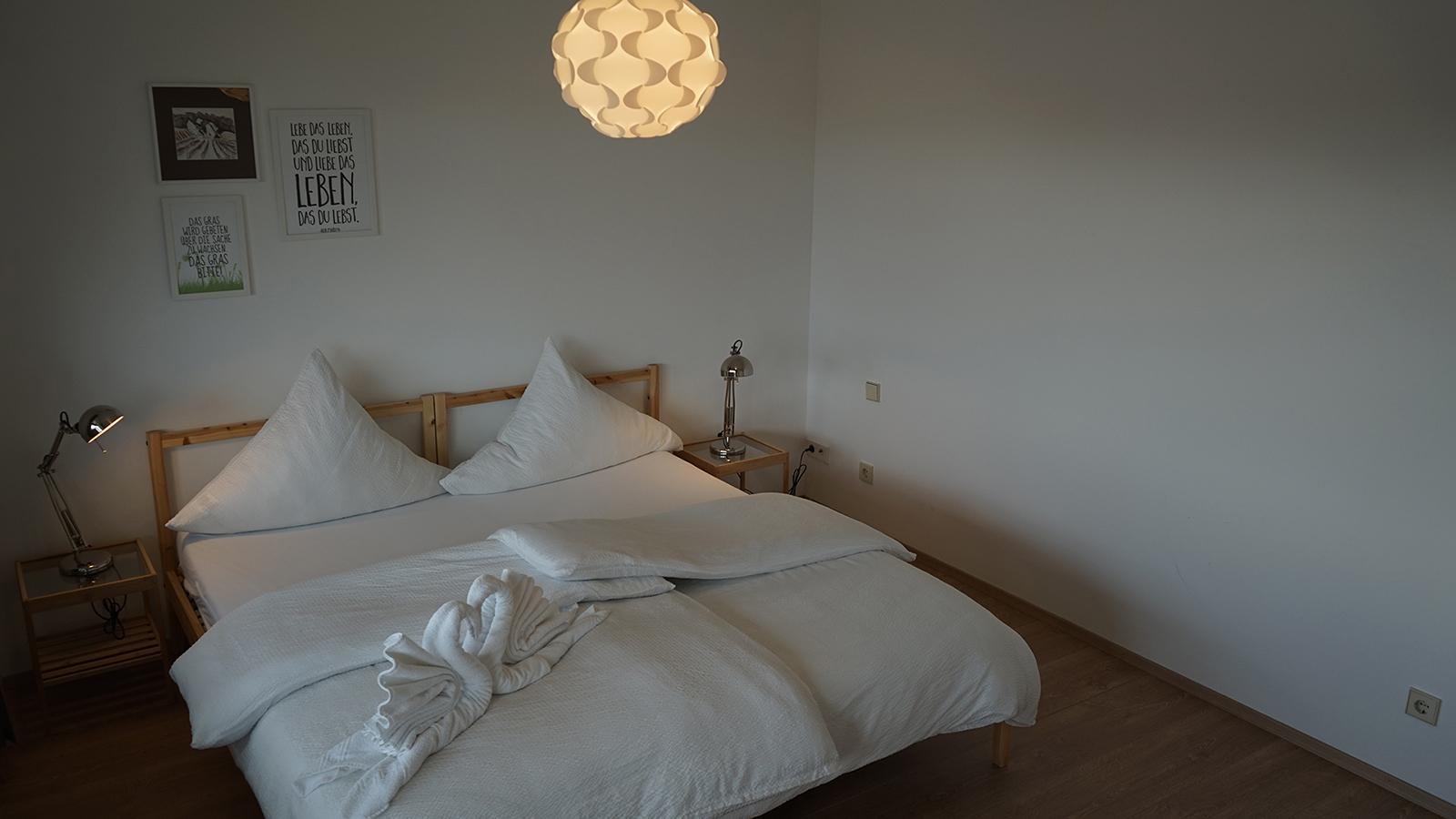 Ferienwohnung am Bodensee: Weitblick - Schlafzimmer