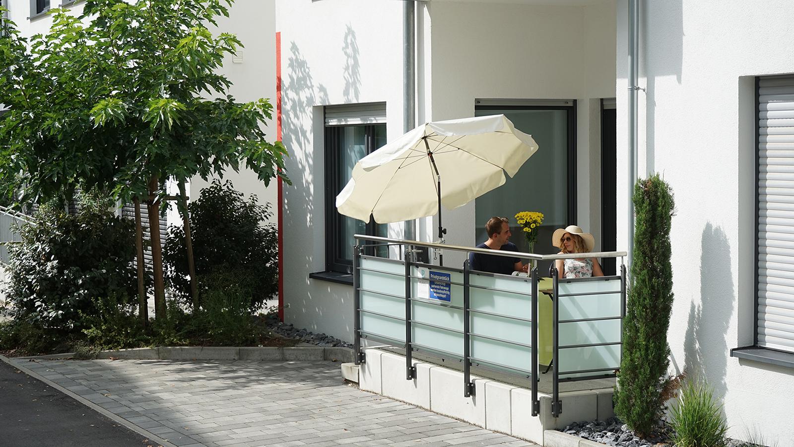 Ferienwohnung am Bodensee: Deluxe - Außenansicht