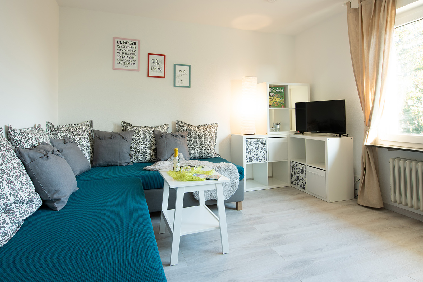 Holiday apartments on Lake Constance: Ittendorf - Living Room