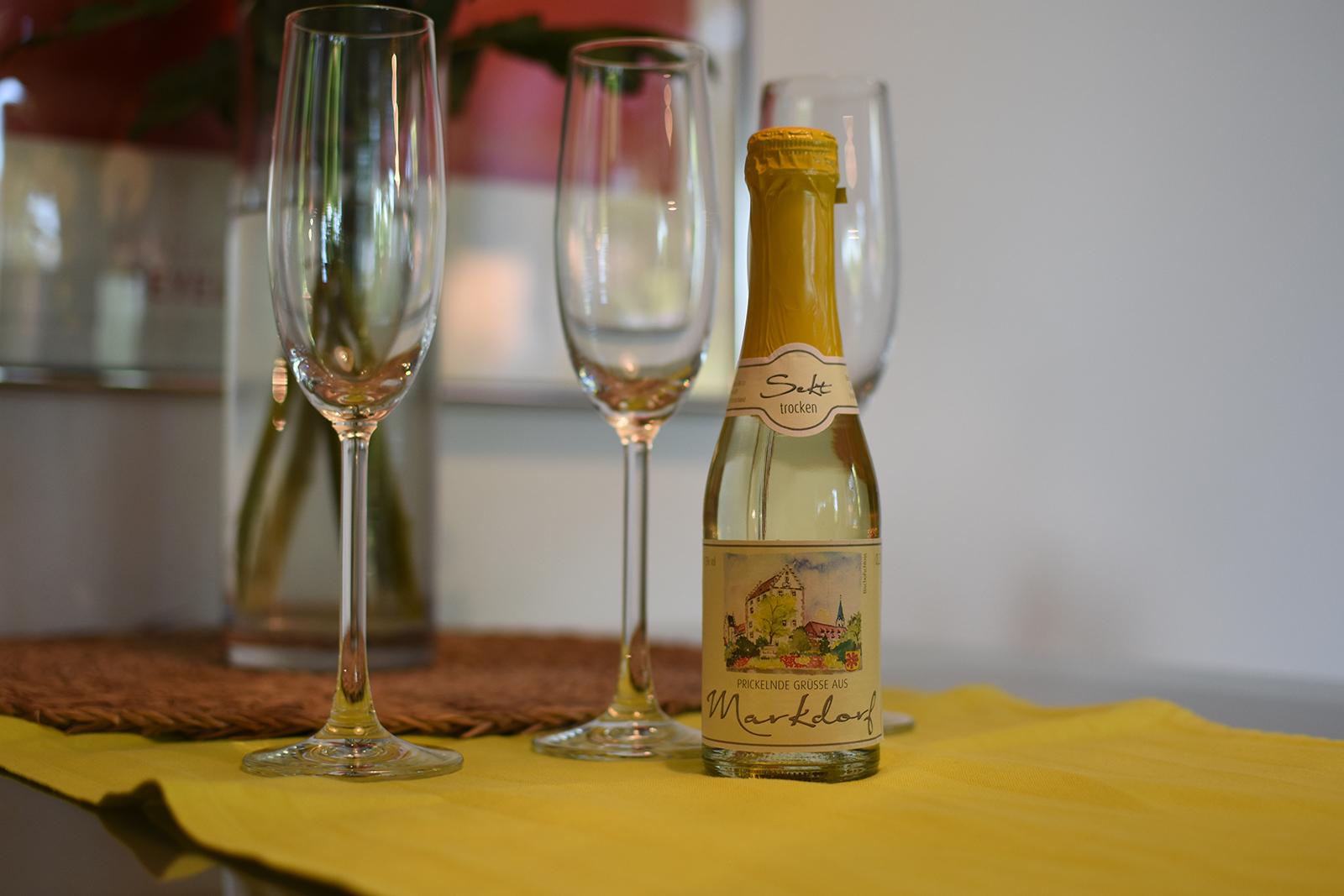 Ferienwohnung am Bodensee: Schillerstraße - Wein