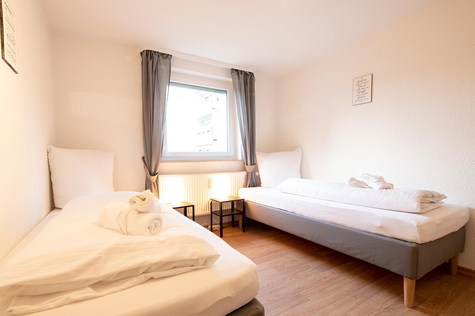 Ferienwohnung am Bodensee: Markdorf - Schlafzimmer 1