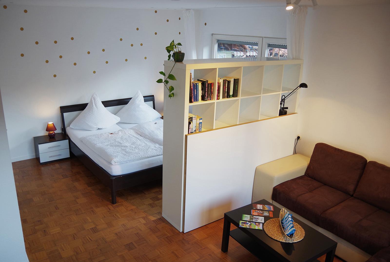 Ferienwohnung am Bodensee: Familienhafen - Schlafzimmer