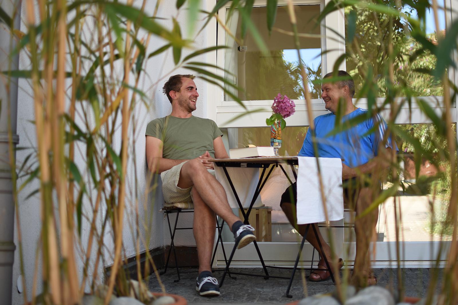 Ferienwohnung am Bodensee: City Appartement - Außenansicht