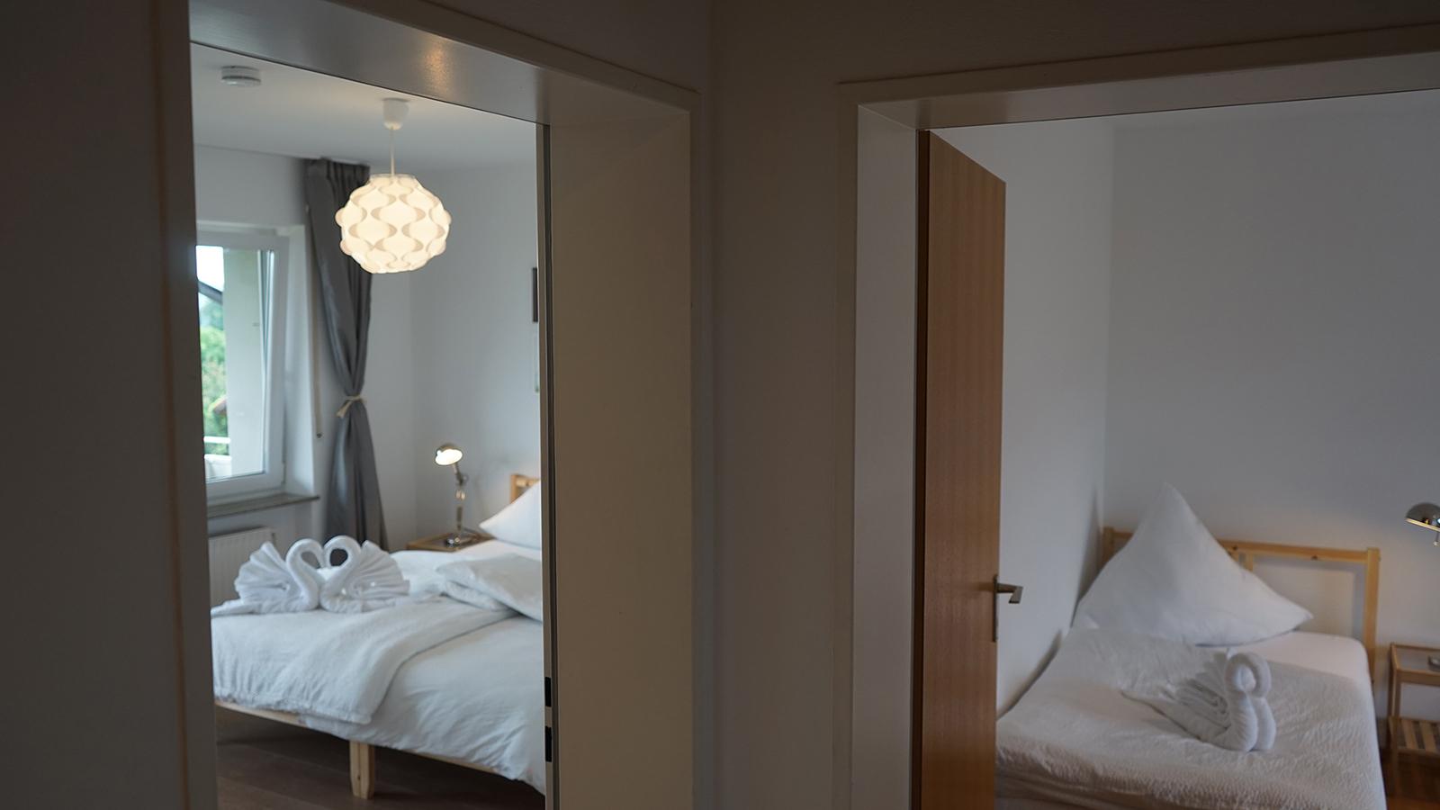 Ferienwohnung am Bodensee: Weitblick - Schlaf-/Kinderzimmer