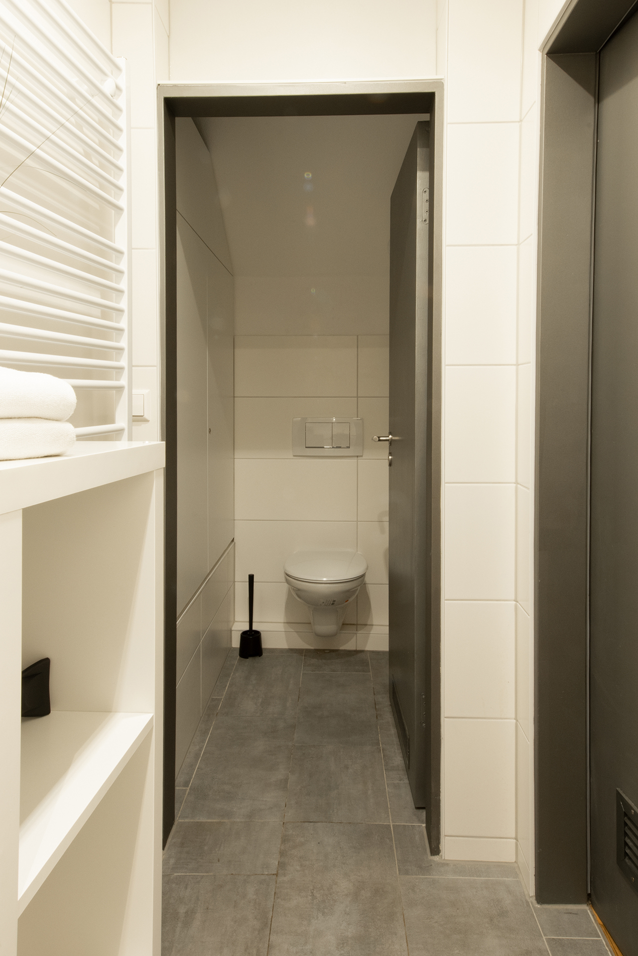 Business Apartment am Bodensee - Toilette