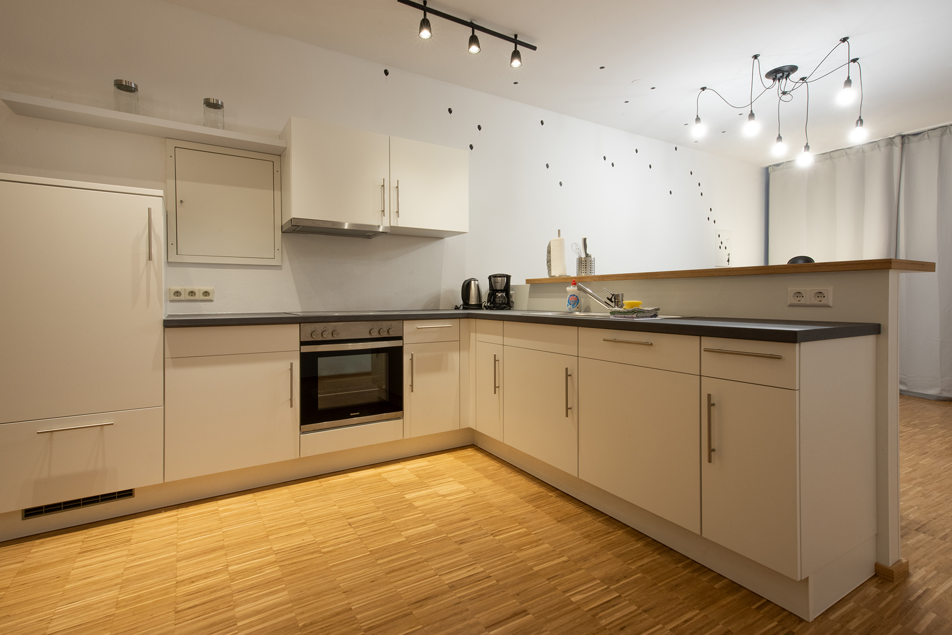 Business apartment on Lake Constance - Kitchen