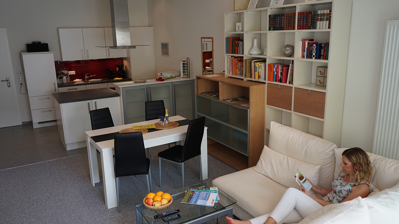 Holiday apartments on Lake Constance: Deluxe - Living Room