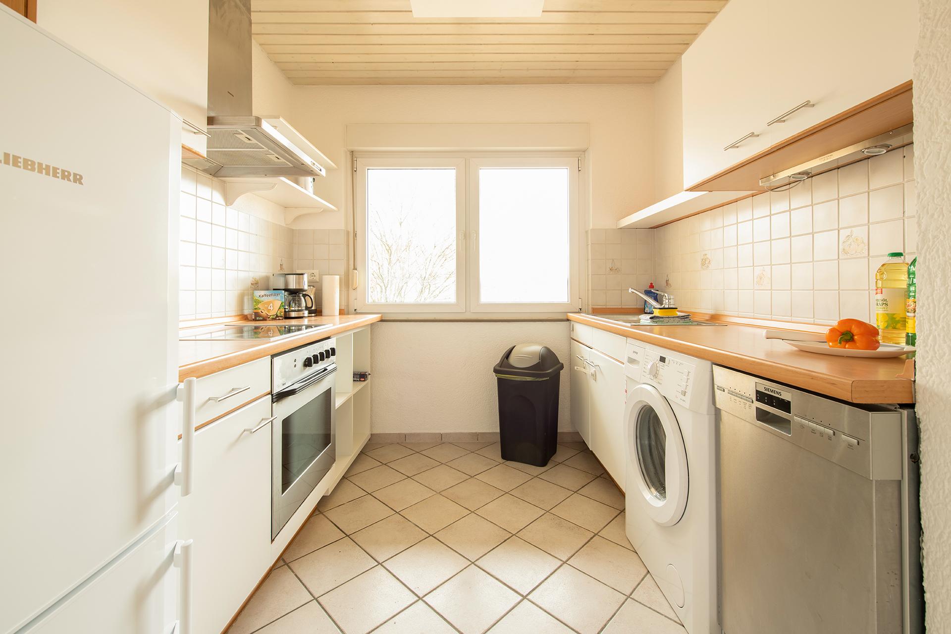 Ferienwohnung am Bodensee: Friedrichshafen - Küche