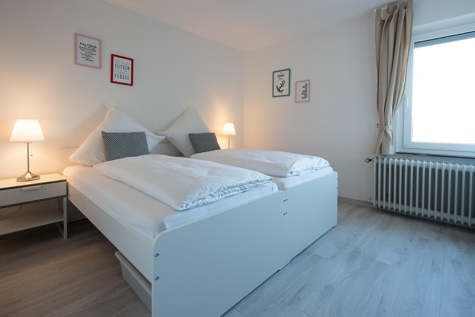 Ferienwohnung am Bodensee: Ittendorf - Schlafzimmer