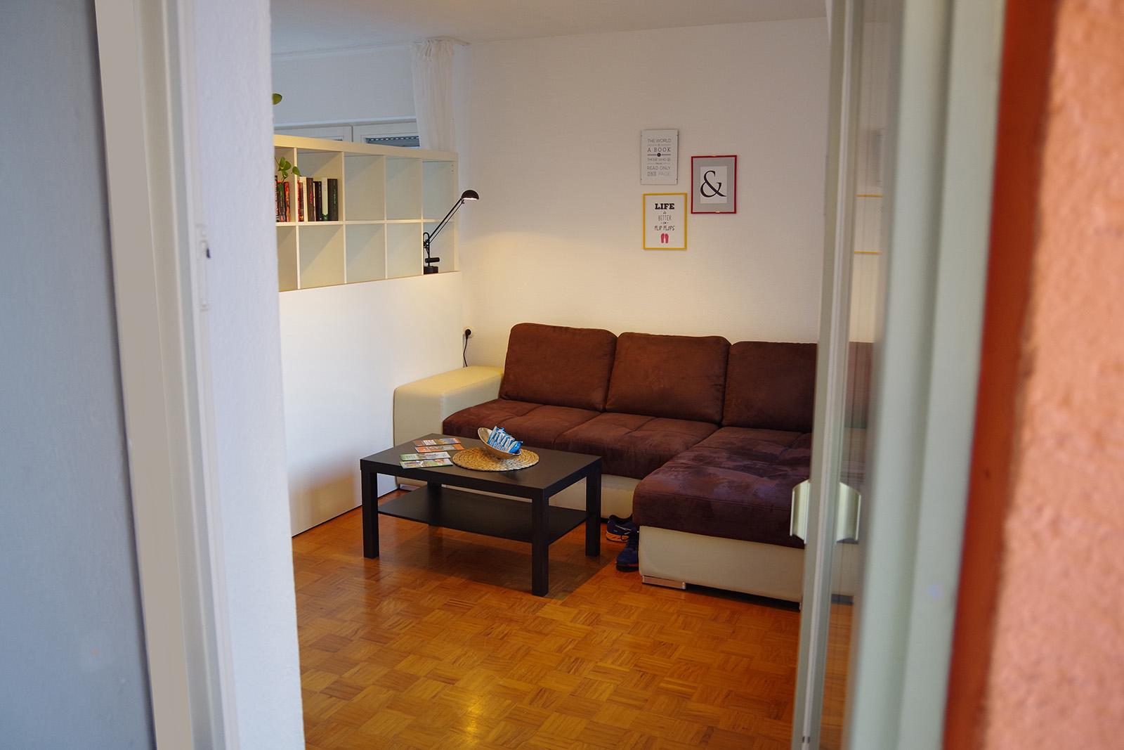 Ferienwohnung am Bodensee: Familienhafen - Wohnzimmer