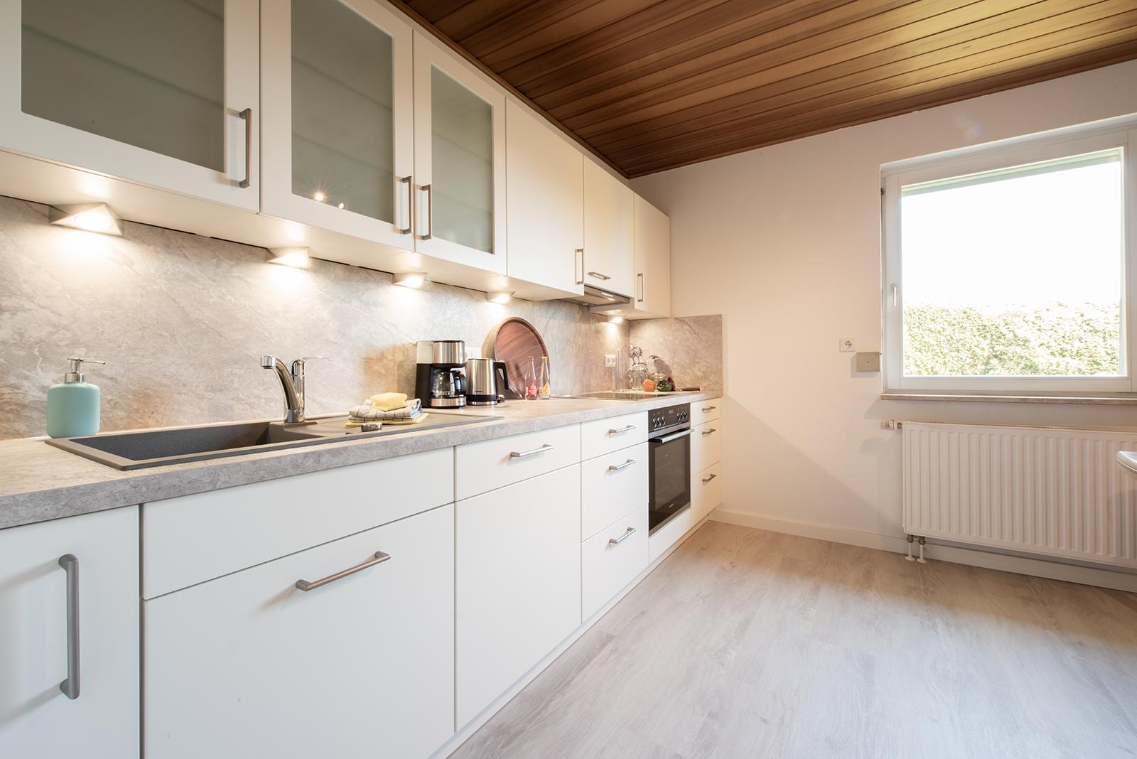 Ferienwohnung am Bodensee: Meersburg - Küche