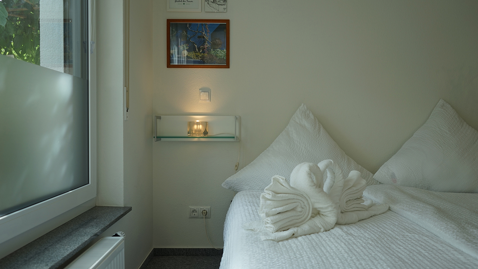 Ferienwohnung am Bodensee: Deluxe - Schlafzimmer