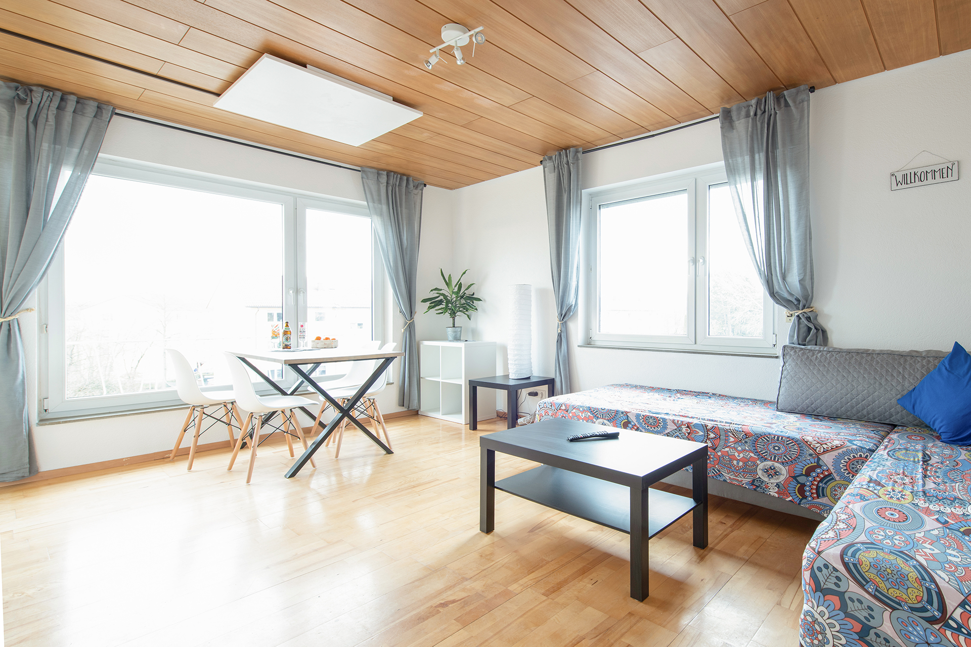 Holiday apartments on Lake Constance: Friedrichshafen - Living Room