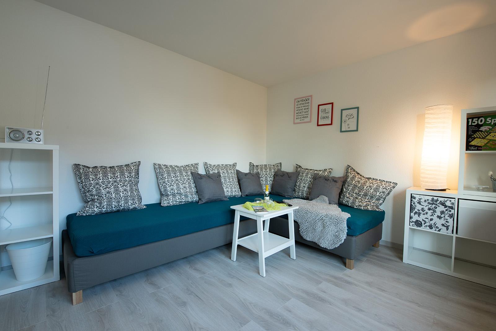 Ferienwohnung am Bodensee: Ittendorf - Wohnzimmer