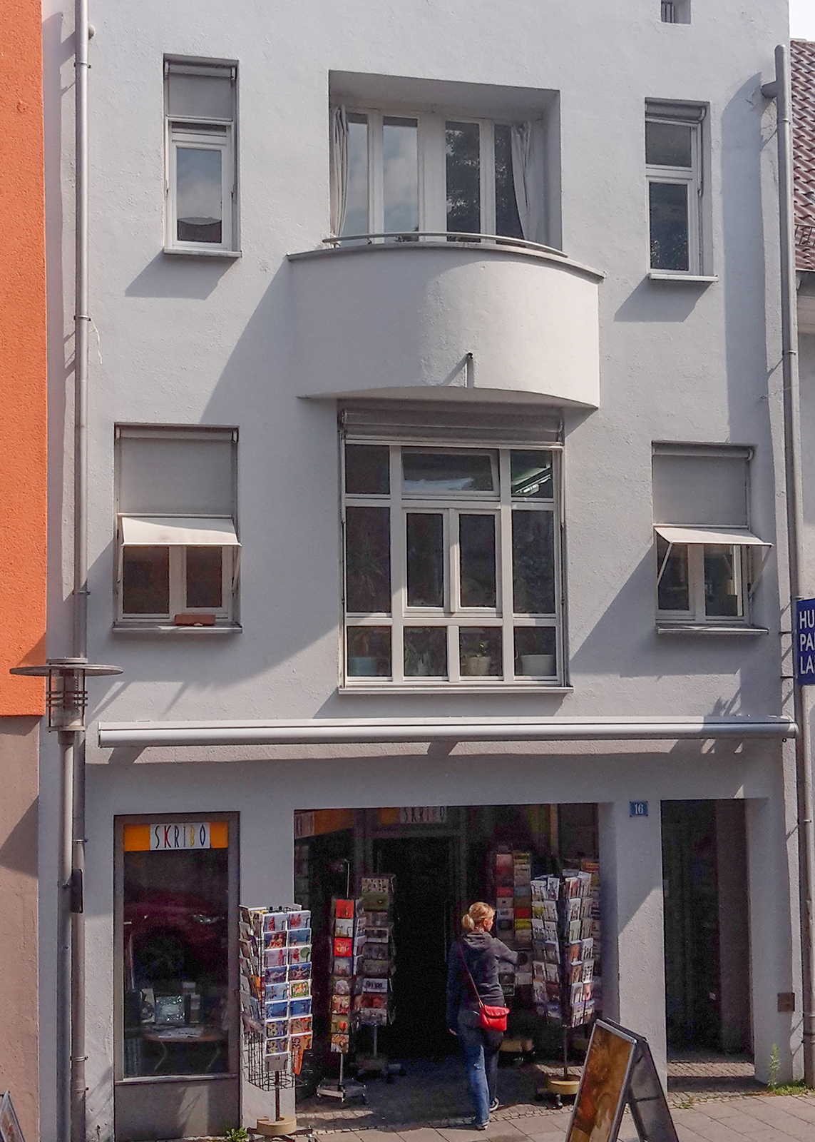 Ferienwohnung am Bodensee: City Appartement 2 - Außenansicht