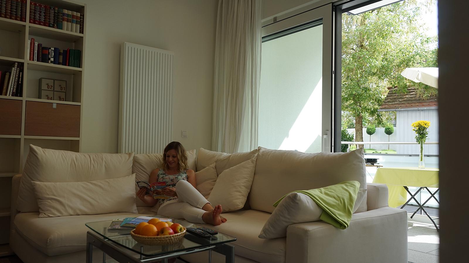 Ferienwohnung am Bodensee: Deluxe - Wohnen