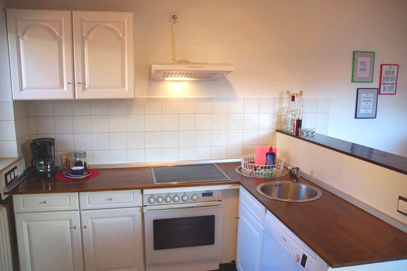 Ferienwohnung am Bodensee: Familienhafen - Küche