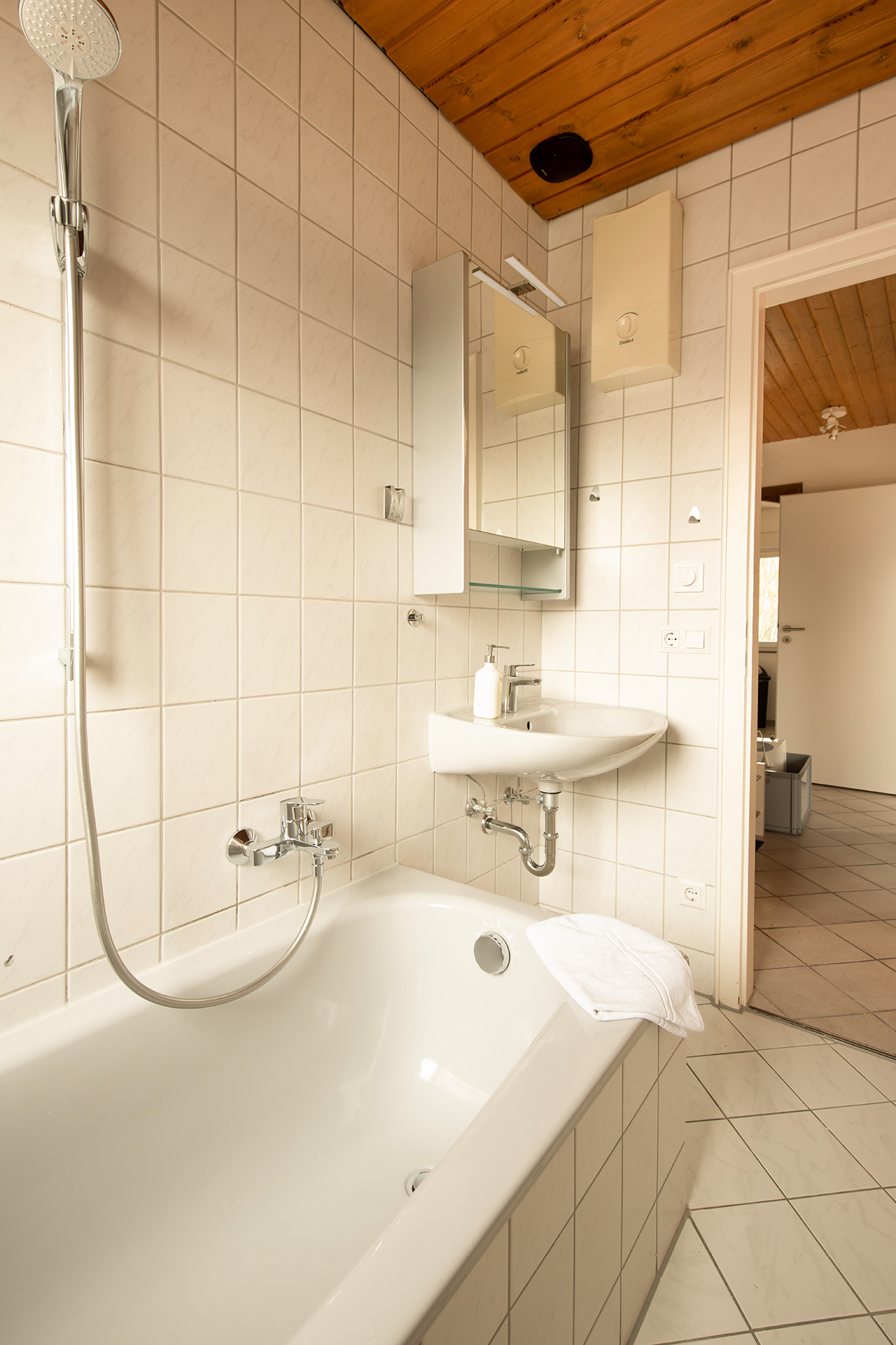 Holiday apartments on Lake Constance: Friedrichshafen - Bathroom