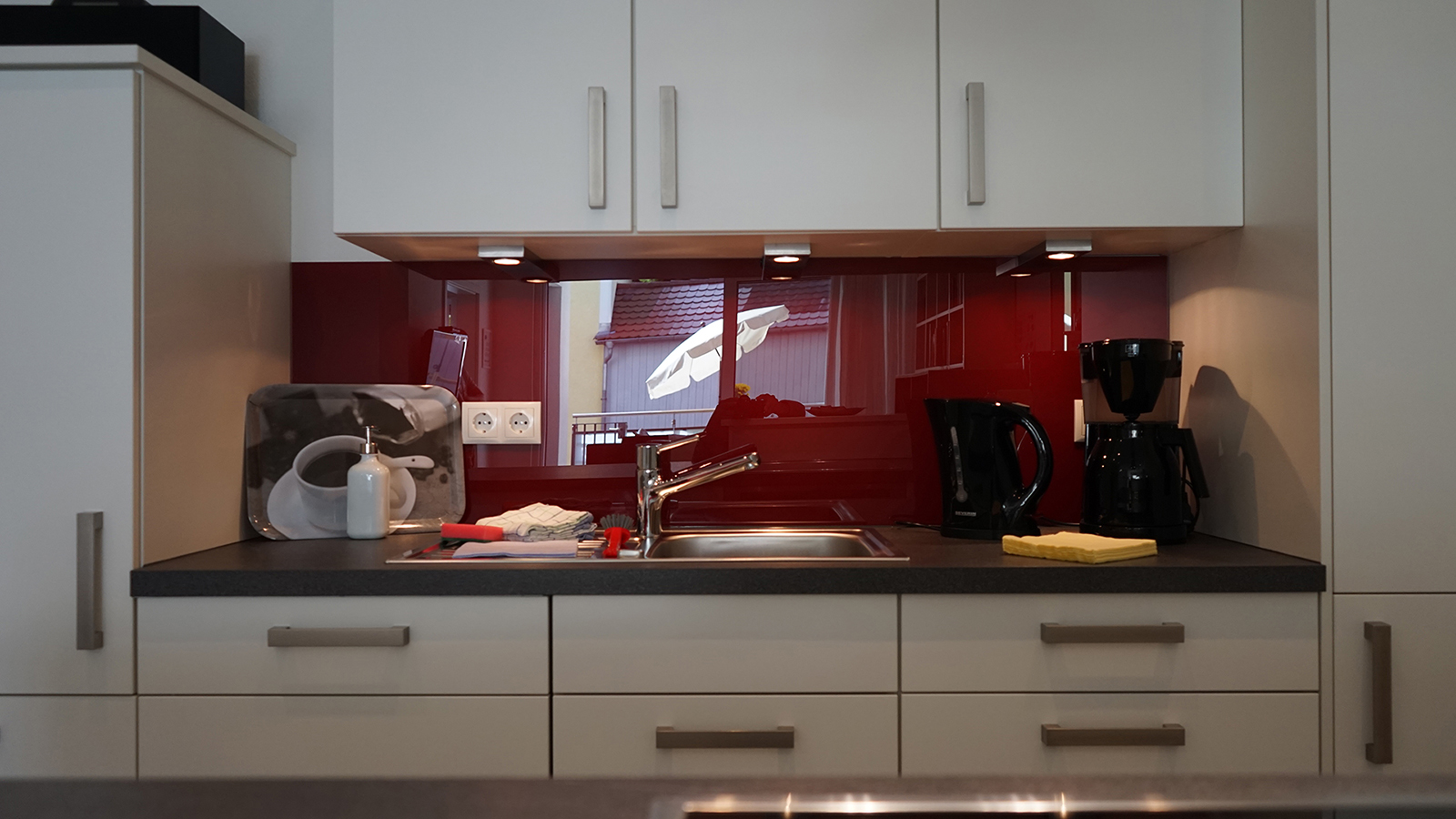 Holiday apartments on Lake Constance: Deluxe - Kitchen