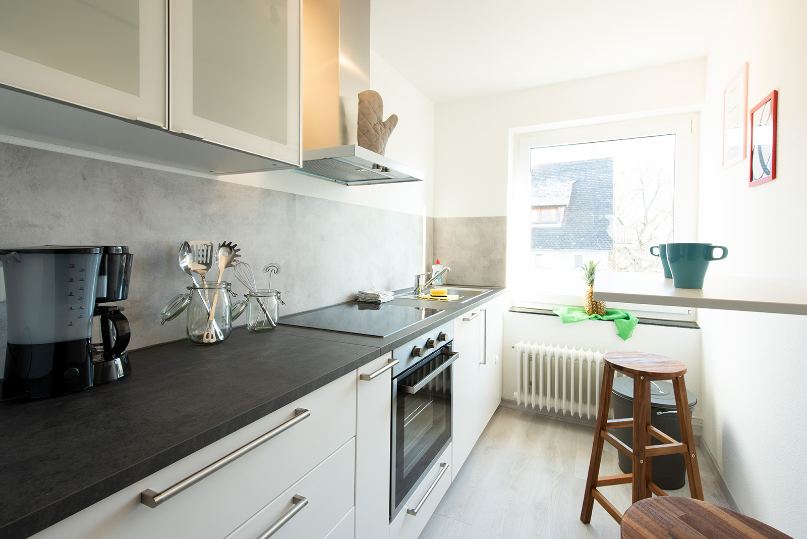 Ferienwohnung am Bodensee: Ittendorf - Küche