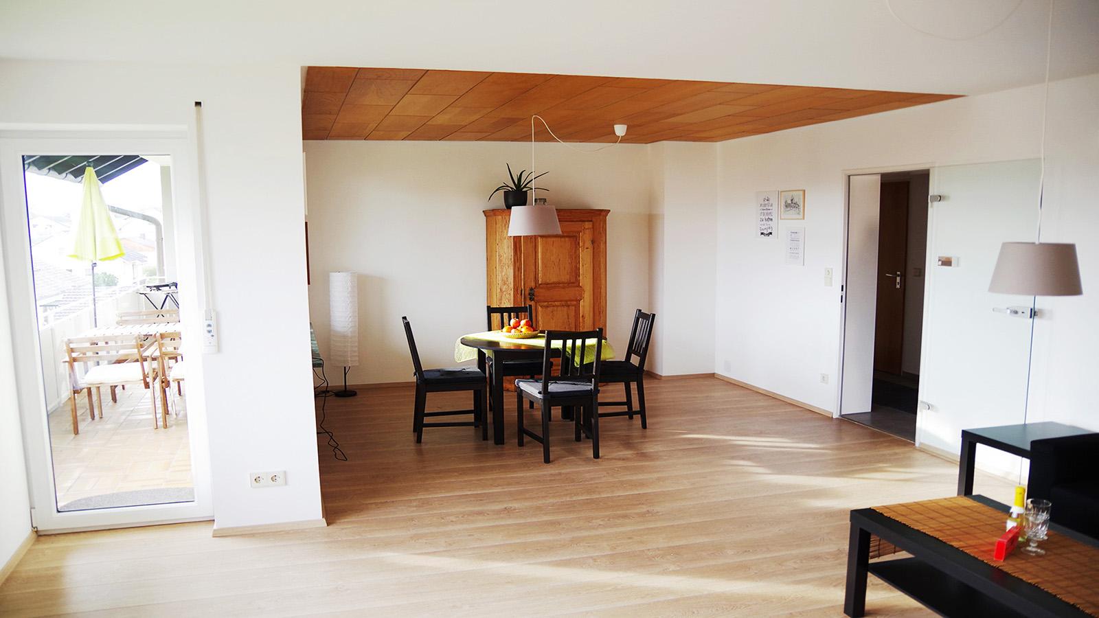 Ferienwohnung am Bodensee: Weitblick - Esszimmer
