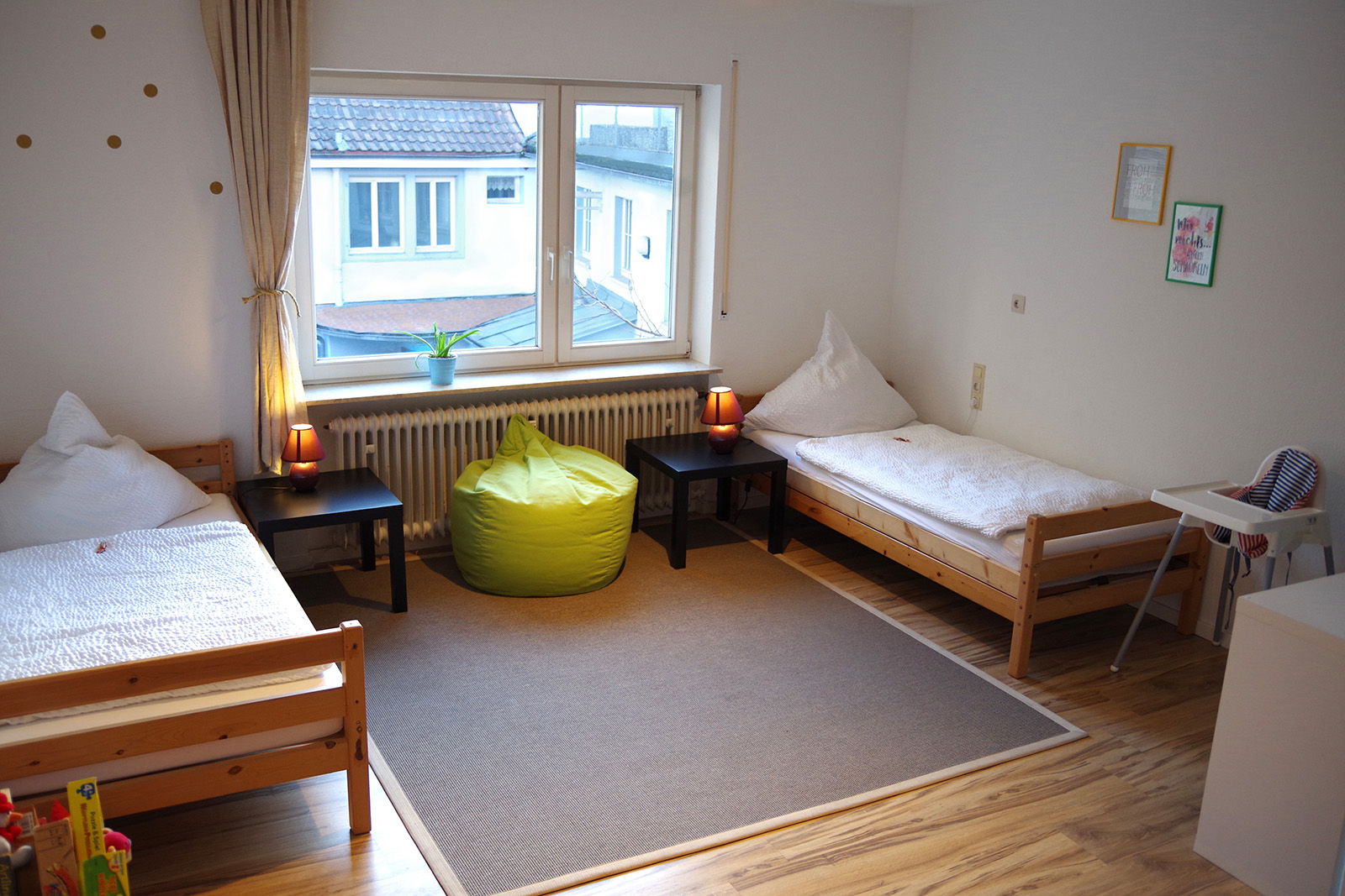 Holiday apartments on Lake Constance: Familienhafen - Children's Room