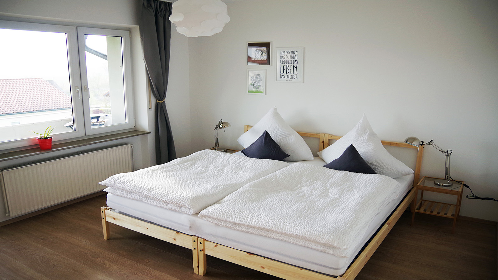 Holiday apartments on Lake Constance: Weitblick - Bedroom