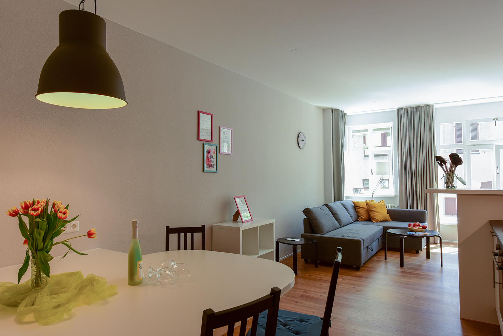 Holiday apartments on Lake Constance: City Appartement 2 - Dining Area