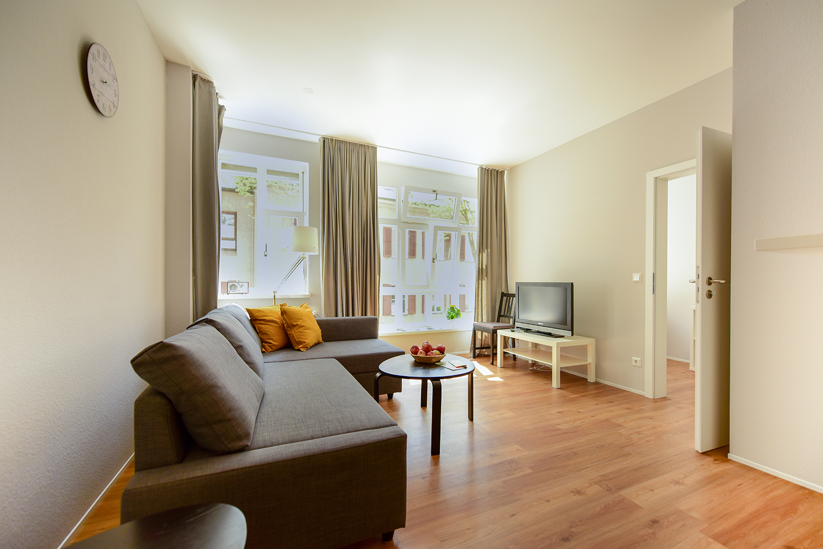 Holiday apartments on Lake Constance: City Appartement 2 - Living Area